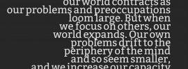 Daniel Coleman Quote Self Absorption