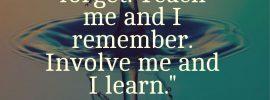 Benjamin Franklin Quote Teach Me