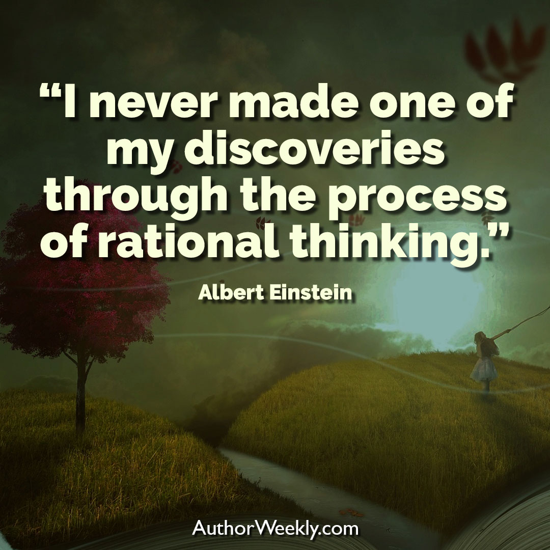 Albert Einstein Creativity Quote Rational Thinking