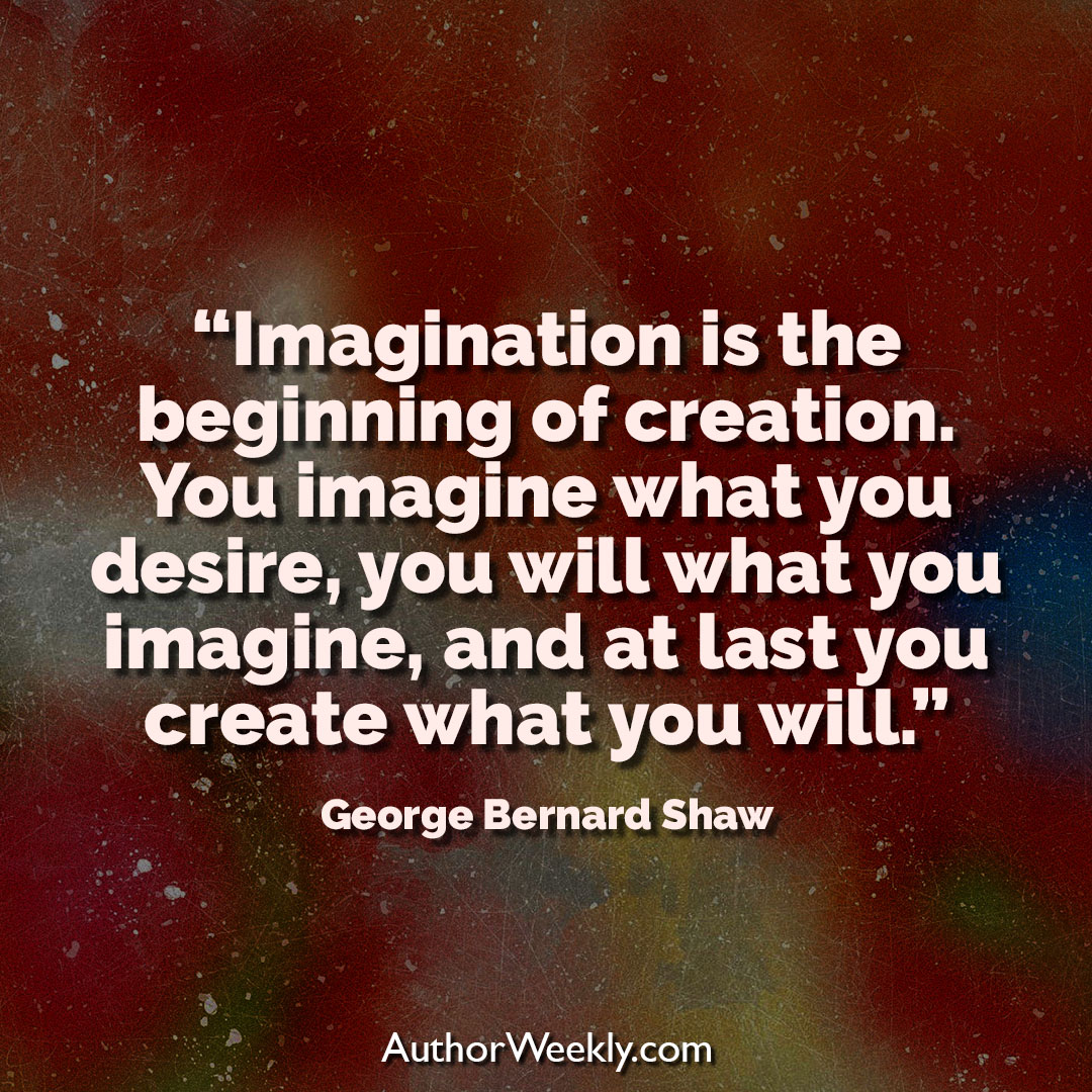 George Bernard Shaw Creativity Quote Imagination is the Beginning