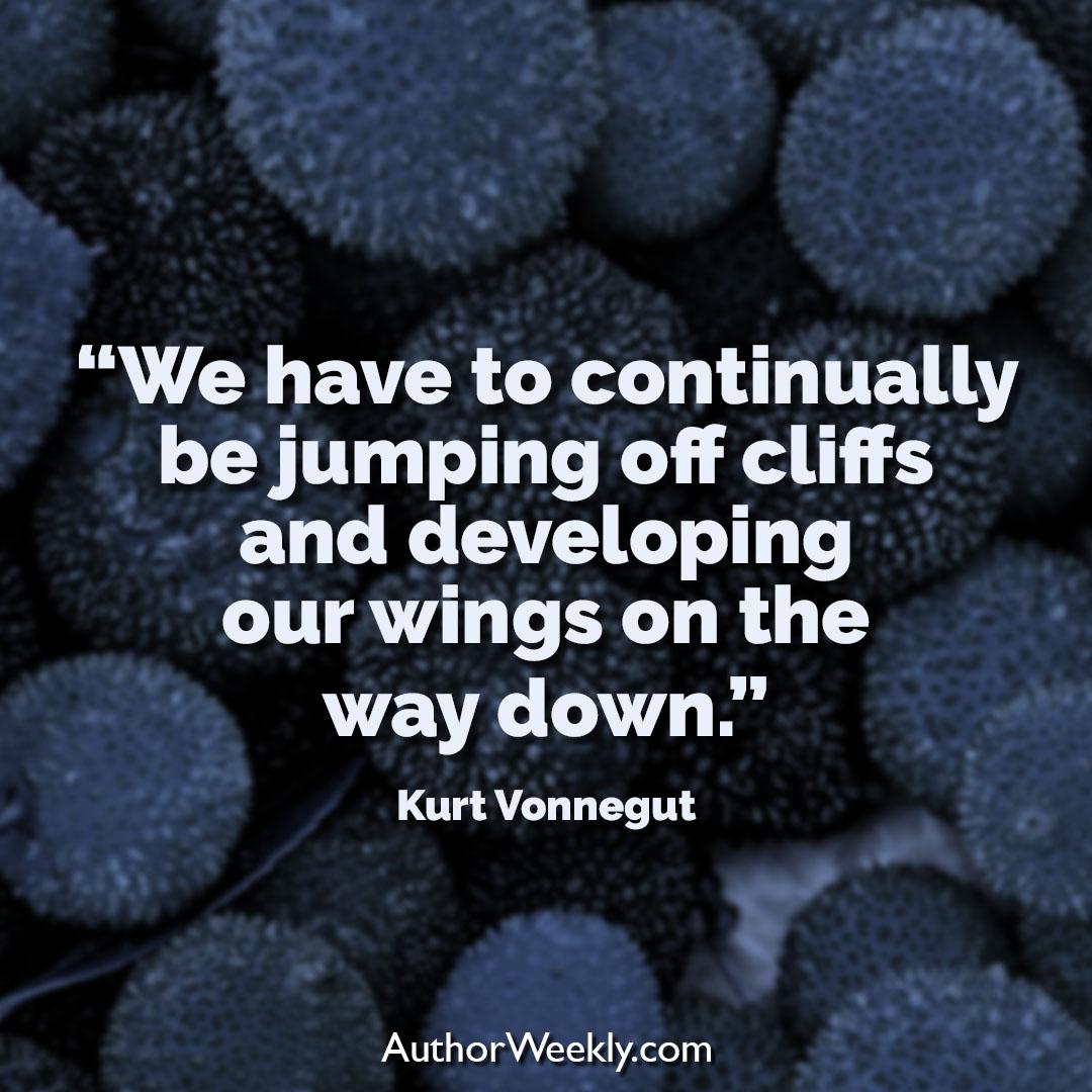 Kurt Vonnegut Creativity Quote Wings