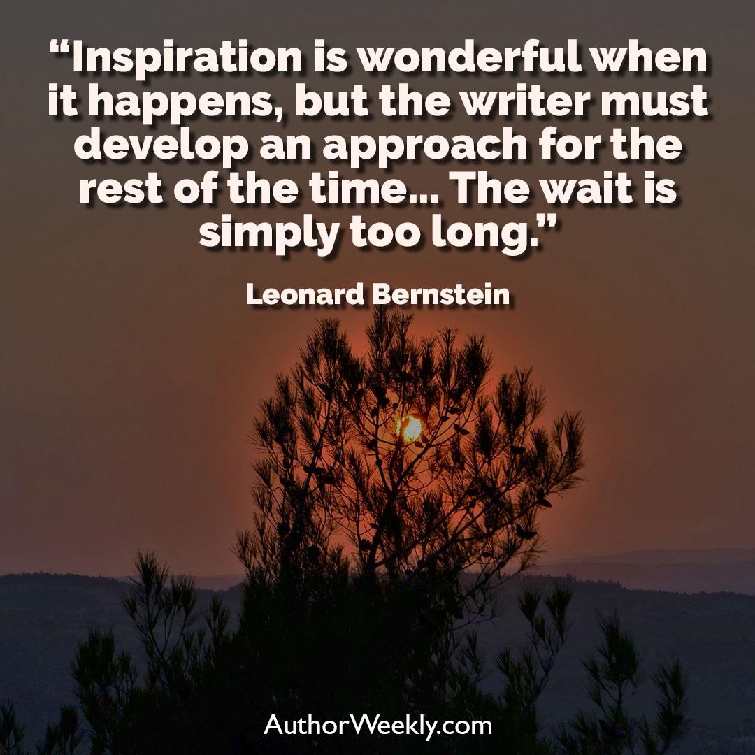 Leonard Bernstein Creativity Quote Inspiration