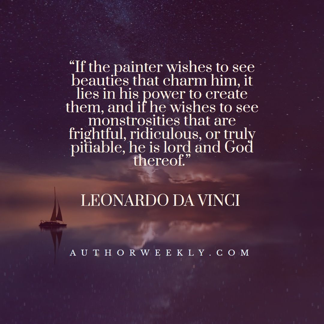 Leonardo Da Vinci Creativity Quote Lord and God Thereof