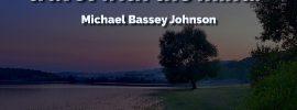 Michael Bassey Johnson Creativity Quote Traveler