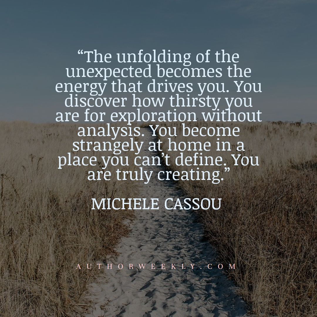 Michele Cassou Creativity Quote Exploration Without Analysis