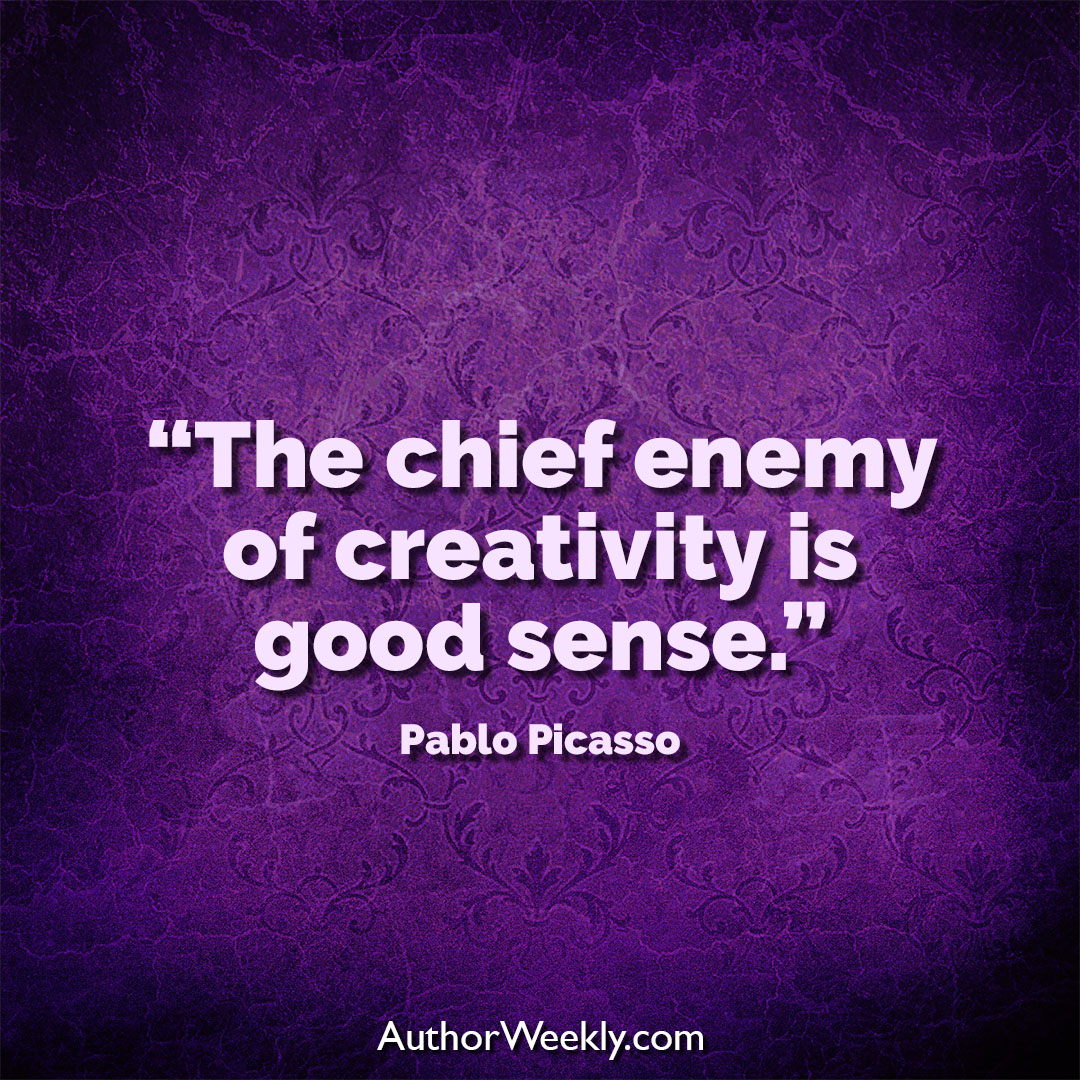 Pablo Picasso Creativity Quote Good Sense