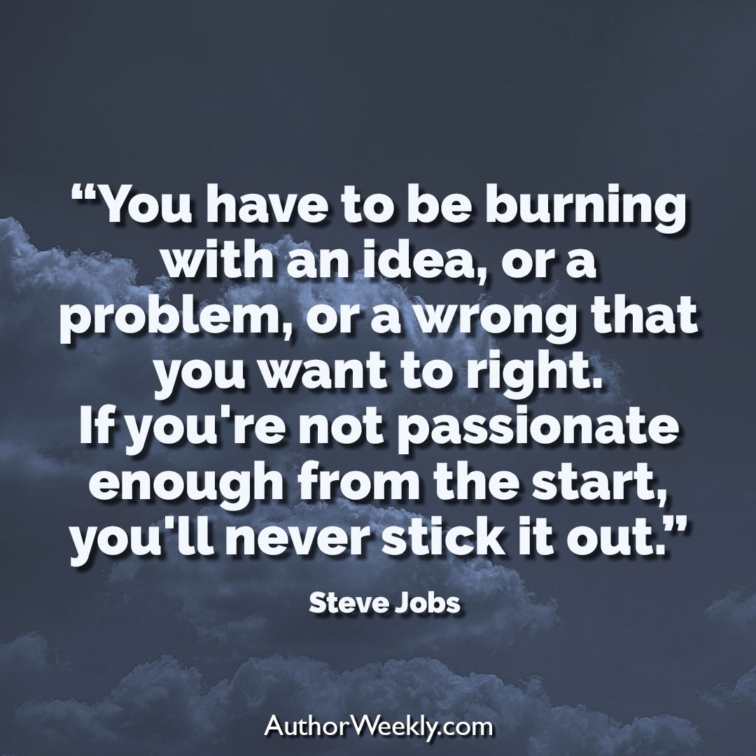 Steve Jobs Creativity Quote Burning