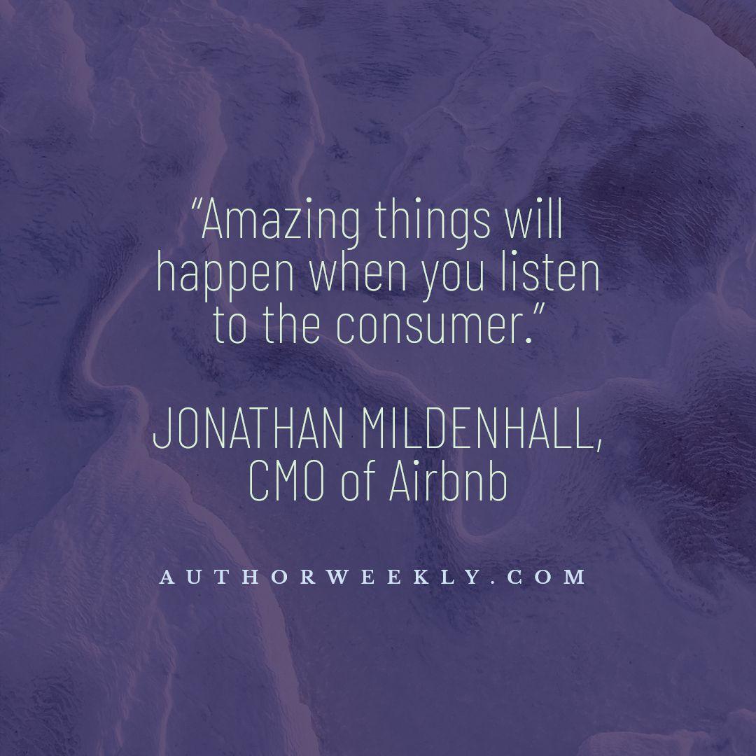 Jonathan Mildenhall Marketing Quote Consumer