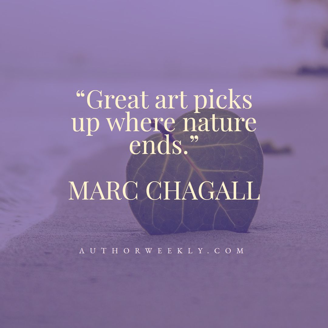 Marc Chagall Creativity Quote