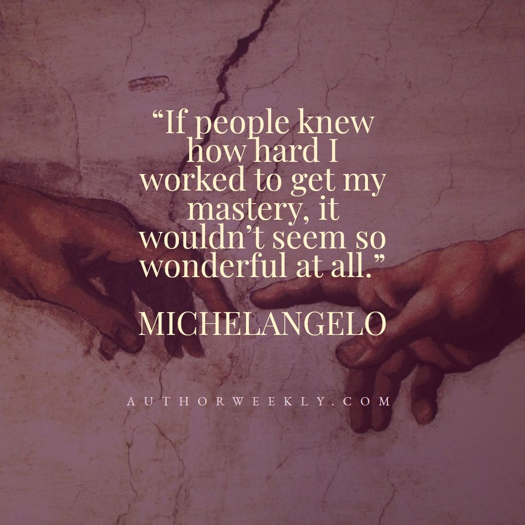 Michelangelo Creativity Quote Mastery