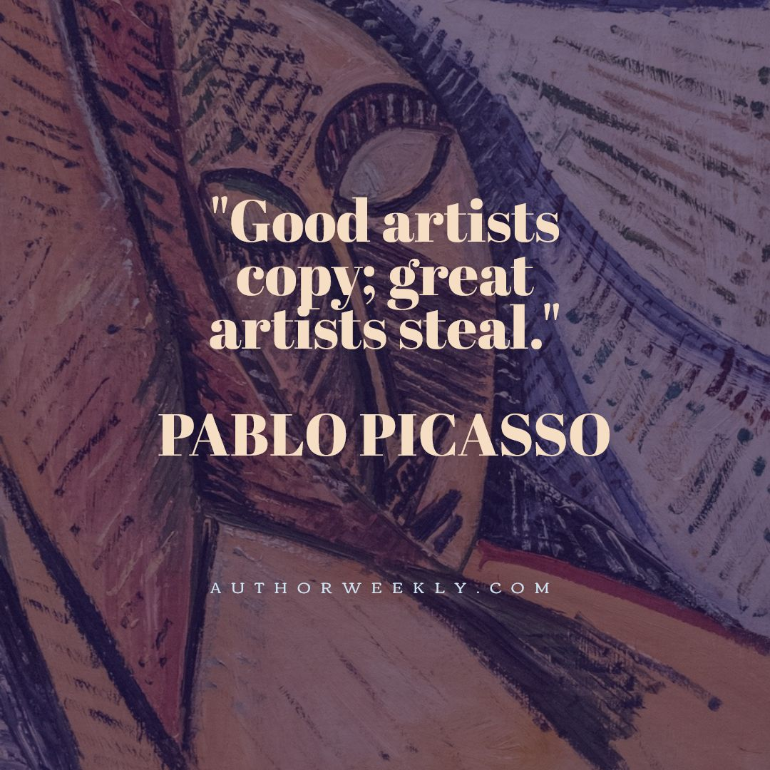 Pablo Picasso Quote Great Artists