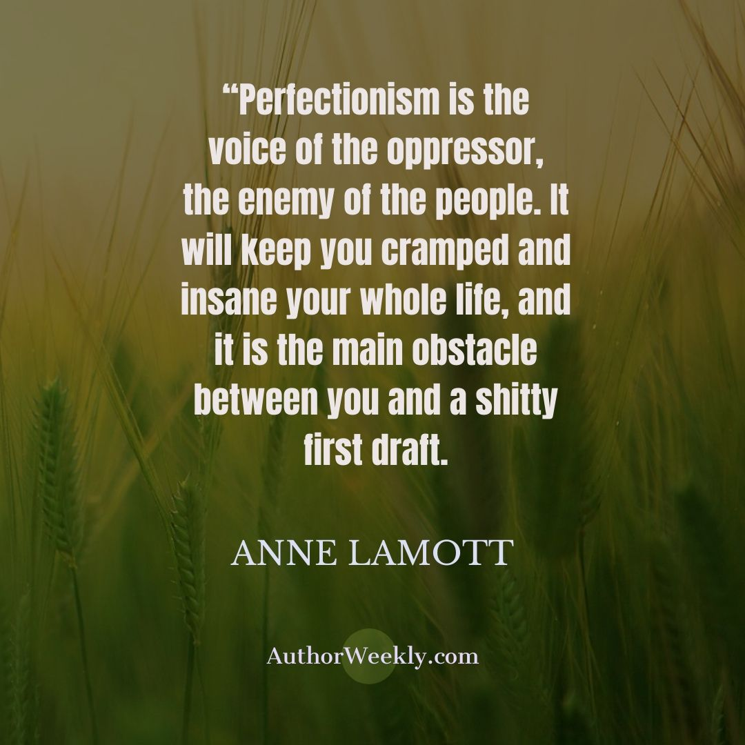 Anne Lamott Quote Perfectionism