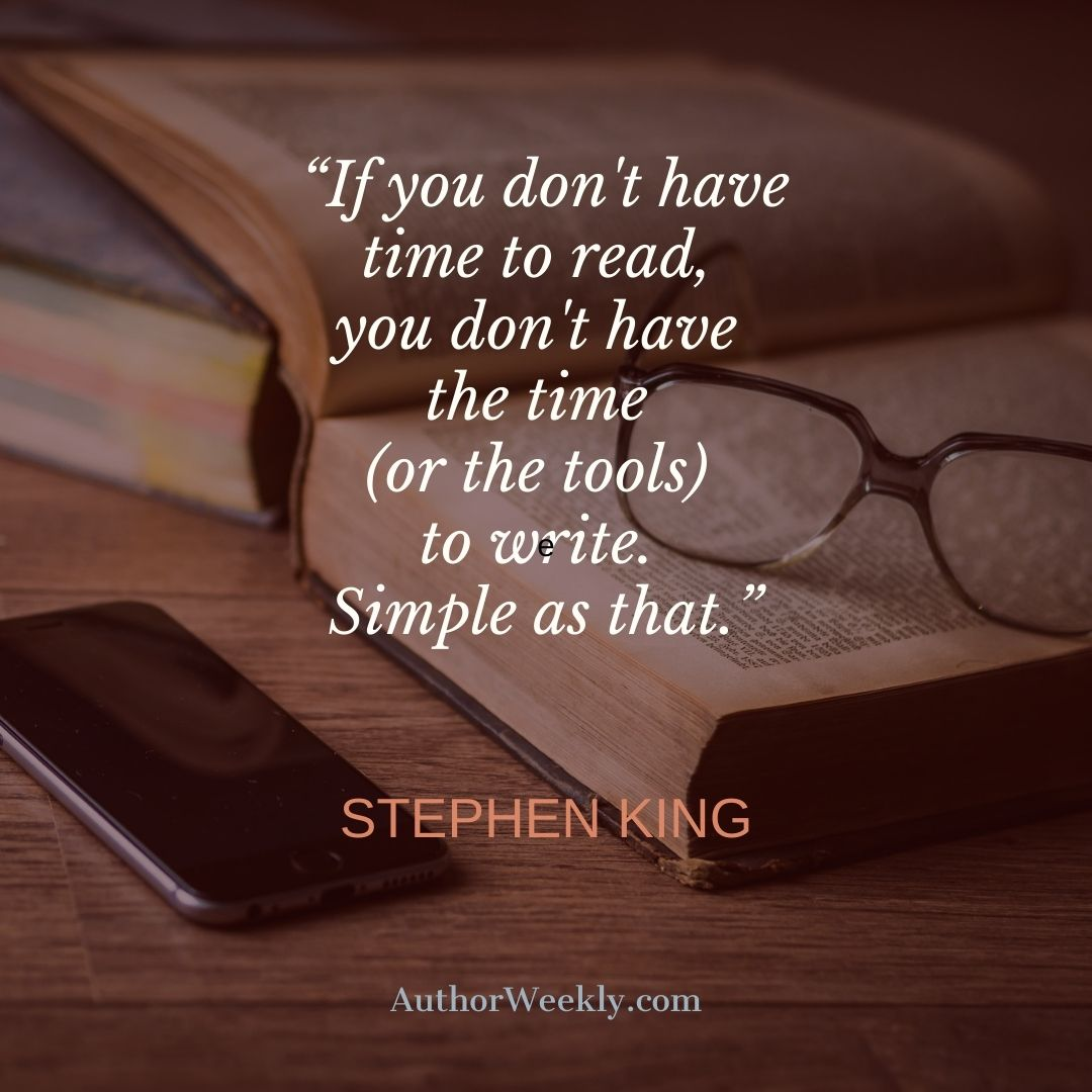Stephen King Quote Simple as That