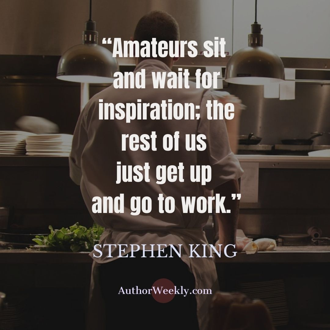 Stephen King Writing Quote Amateurs