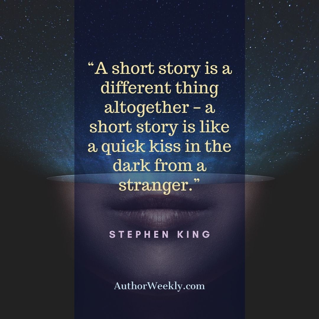 Stephen King Writing Quote Short Story