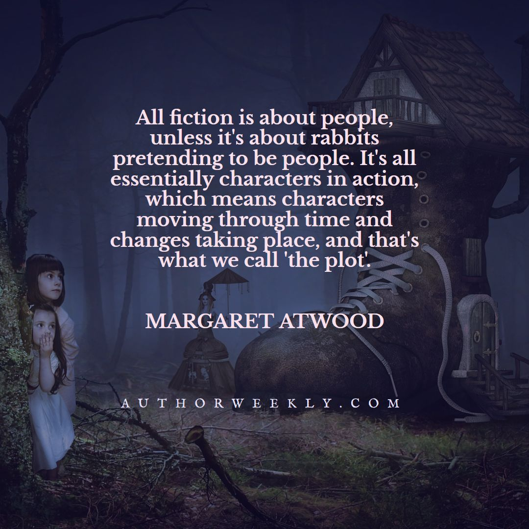 Margaret Atwood Quote Plot